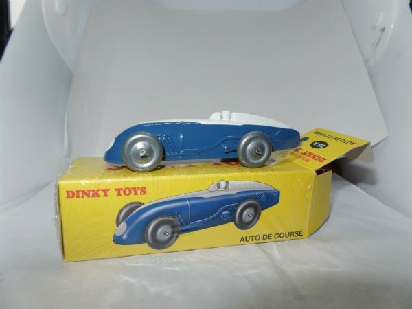 Atlas French Dinky 23A AUTO DE COURSE - BLUE